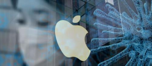 Apple iphone a rischio per il coronavirus