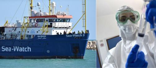 Coronavirus: l'ong Sea Watch protesta per le misure di quarantena dopo lo sbarco a Messina