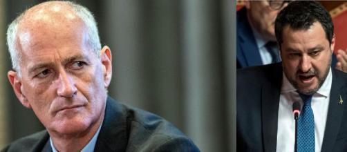 Franco Gabrielli critica Matteo Salvini ad un seminario del sindacato di Polizia