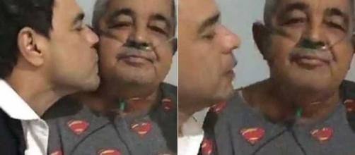 Pai de Zezé di Camargo mostra evolução após internação. (Arquivo Blasting News)