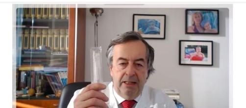 Roberto Burioni - il tampone rileva il coronavirus.