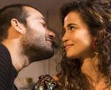 Sandro (Humberto Carrão) e Érica (Nanda Costa) vão se apaixonar na novela Amor de Mãe, da Globo. ( Reprodução/TV Globo )