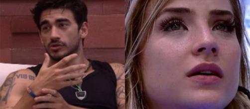 """""""BBB20"""": Guilherme diz que não vai dar o anjo para Gabi. (Reprodução/TV Globo)"""