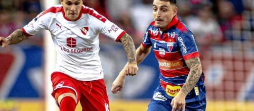 Fortaleza 2 x 1 Independiente. (Arquivo Blasting News)