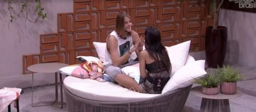 Ivy e Daniel discutem liderança do 'BBB20'. (Reprodução/TV Globo)