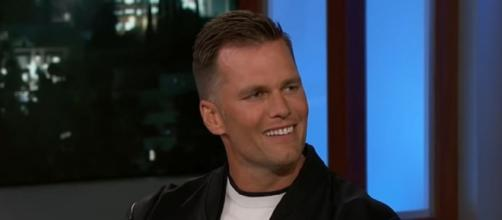 Brady is not paying attention to rumors about his future. [Image Source: Jimmy Kimmel Live/YouTube]