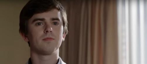 Freddie Highmore will soon celebrate the opening of his big-screen Spanish language film, 'Way Down.' [Image source: ABC-YouTube]