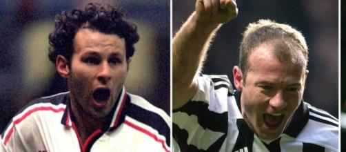 Giggs and Shearer are among the favourites for Hall of Fame recognition (Source: Blasting News archive)