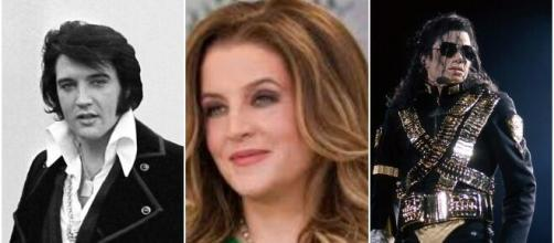 Lisa Marie Presley compares Elvis Presley and Michael Jackson's deaths.( Photos/Wikimedia /Constru-centro/Ollie Atkins /Idioma))