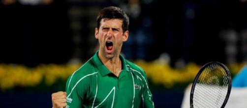 Novak Djokovic vince per la quinta volta il Dubai Tennis Championship.