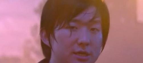 Pyong Lee durante a festa Guerra e Paz: novo vídeo da festa veio à tona nas últimas horas e causou polêmica. (Reprodução/Globo).