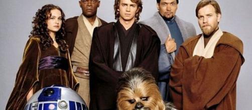 5 atores da franquia Star Wars atualmente. (Divulgação/LucasFilms)