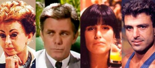 5 atores que fizeram sucesso na novela Vale Tudo. Reprodução/TV Globo