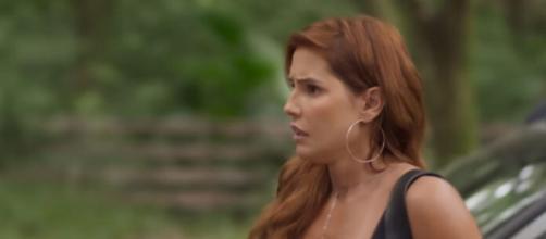 Antes Alexia, e agora Josimara em 'Salve-se Quem Puder'. (Reprodução/TV Globo)