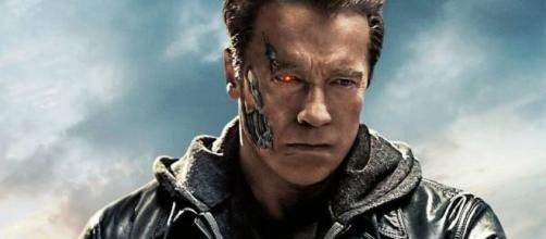 """Atores de 'O Exterminador do Futuro"""" vinte anos depois. (Divulgação/Paramount)"""