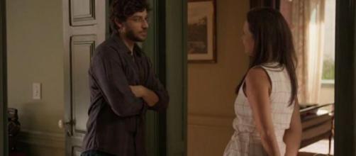 Danilo descobrirá doença de Thelma em 'Amor de Mãe'. (Reprodução/TV Globo)