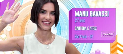 Manu Gavassi pediu Igor Oliveira em namoro no 'BBB20'. (Reprodução/TV Globo)
