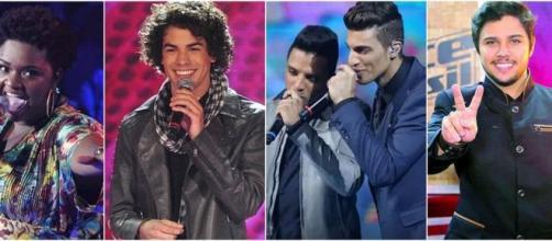 Os vencedores do 'The Voice Brasil' não emplacaram nenhum sucesso. (Reprodução/Globo)