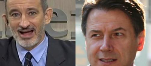 Pietro Senaldi e Giuseppe Conte