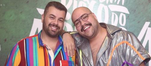 Tiago Abravanel e seu marido se beijaram em palco. (Arquivo Blasting News)