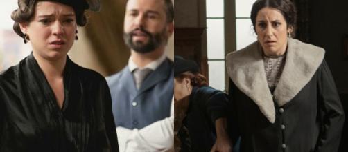 Una Vita, spoiler Spagna Lolita entra in travaglio, Felipe sospetta di Genoveva.