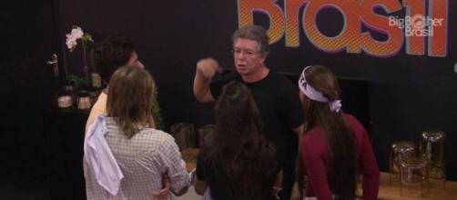 A conversa aconteceu na tarde desta segunda-feira (03). (Reprodução/TV Globo)