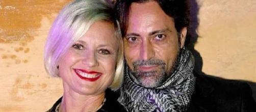 Antonella Elia con il fidanzato Pietro Delle Piane