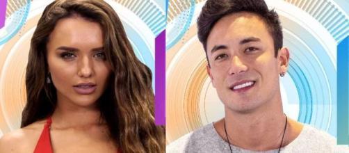 'BBB20': De acordo com Leo Dias, Rafa e Caon já viveram romance intenso.(Reprodução TV Globo)