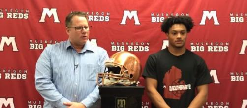 Cameron Martinez explained the reason of signing with Ohio State Buckeyes. [Image Source: MLive/ YouTube]