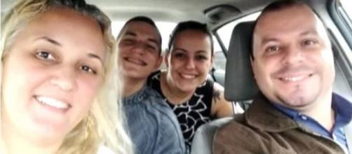 Família foi encontrada morta no porta-malas de um veículo. (Reprodução/Facebook/@RomuyukiGonçalves)