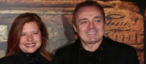 Gugu e Rose Mirian não eram casados oficialmente e ela ficou fora do testamento do apresentador. (Arquivo Blasting News)