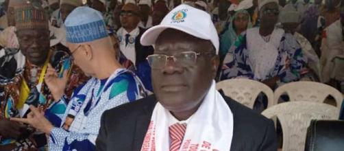 Le Président de la Commission Communale de campagne de Danay Est Mounouna Foutsou (c) Minjec