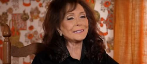"Loretta Lynn takes top prize in Dolly Parton's social media challenge, looks to 'great"" 2020.[Image source:Loretta Lynn-YouTube]"