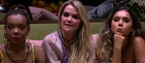 Marcela chama Boca Rosa de 'isentona'. (Reprodução/TV Globo)