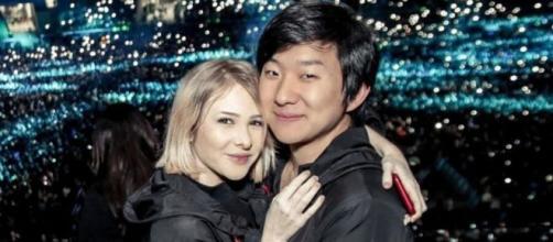 Sammy Lee e Pyong Lee esperam um bebê. (Reprodução/Instagram/@pyonglee)