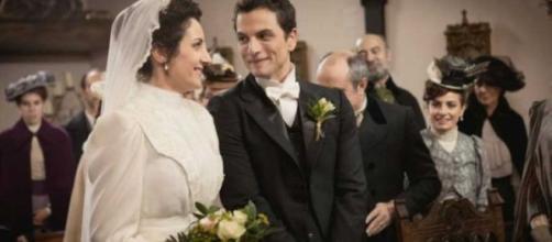 Una Vita trame al 14 febbraio: Antonito e Lolita si sposano.