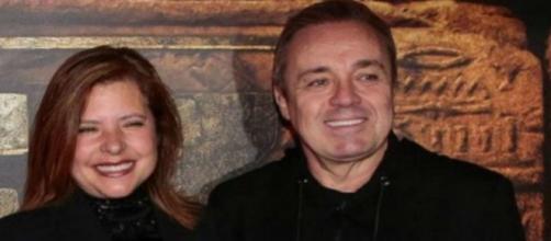 Viúva de Gugu Liberato pode estar passando por dificuldade. (Arquivo Blasting News)
