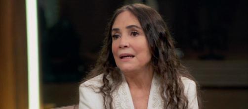 A nova secretária Especial da Cultura, Regina Duarte, perdeu patrocínio com a marca de arroz Cristal. (Reprodução/Globo)