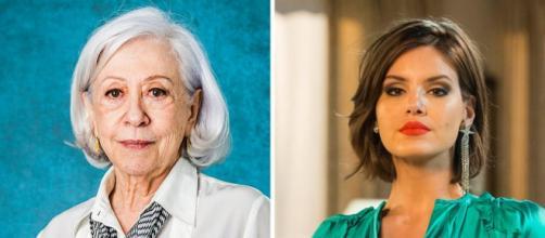 As atrizes da Rede Globo mais bem pagas da emissora. ( Fotomontagem )
