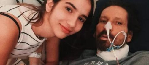 Filha de Asa Branca usa rede social para desabafar sobre seu pai. (Reprodução/Arquivo Pessoal)