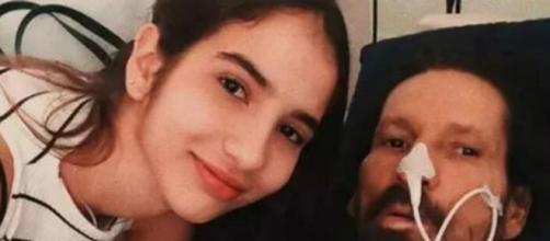 Lara prestou homenagem ao pai nas redes sociais. (Reprodução/Instagram/Arquivo Pessoal)