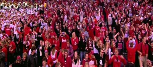 Nebraska came calling for Micah Riley. [Image via Huskers.com/YouTube]