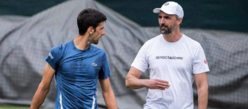 Novak Djokovic e Goran Ivanisevic