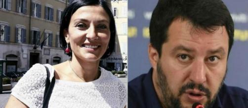Salvini accusa il Pd e la Morani di voler regolarizzare i clandestini
