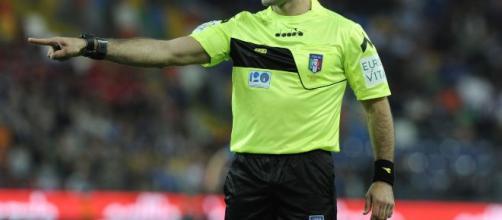 Fabio Maresca, arbitro del derby di Milano.