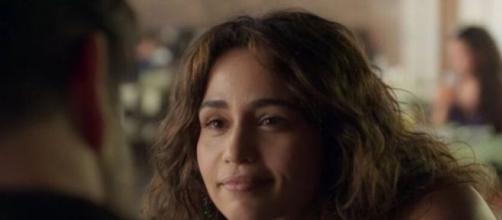 Érica e Raul vivem drama no relacionamento em 'Amor de Mãe'. (Reprodução/TV Globo)