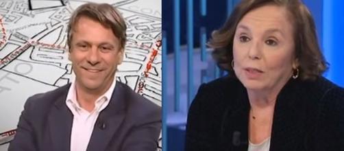 Nicola Porro e Luciana Lamorgese.