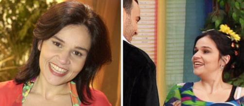 Os melhores papéis da atriz Cláudia Rodrigues. (Fotomontagem)