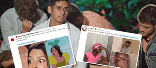 Las redes sociales se han llenado de memes con los momentos más divertidos de la Isla de las Tentaciones.