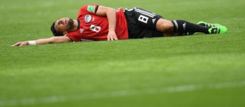 Lesionado de jugador de Egipto - ligadeportiva.com
